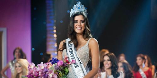 Foto Cantik & Seksi Miss Universe 2015 Paulina Vega