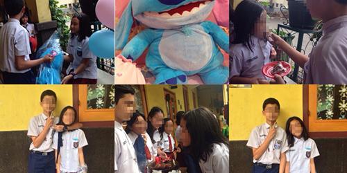 Foto anak SMP dan anak SD pacaran @ask.fm