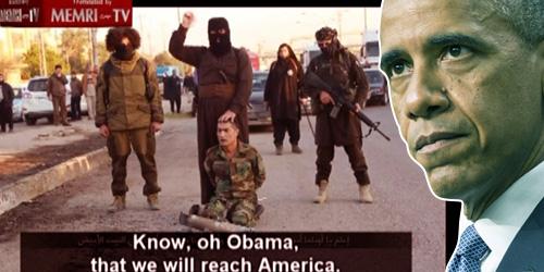 ISIS Lansir Video Ancam Penggal Obama dan Jajah Amerika