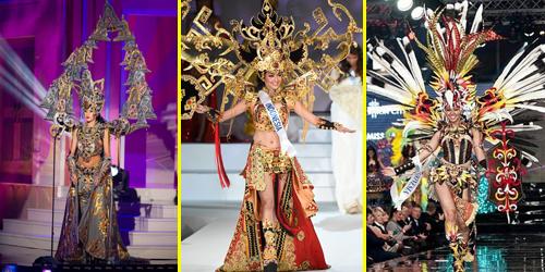 Kostum Nasional Indonesia Juara Ajang Kecantikan Dunia