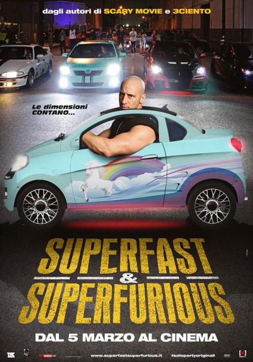 poster film parodi superfast