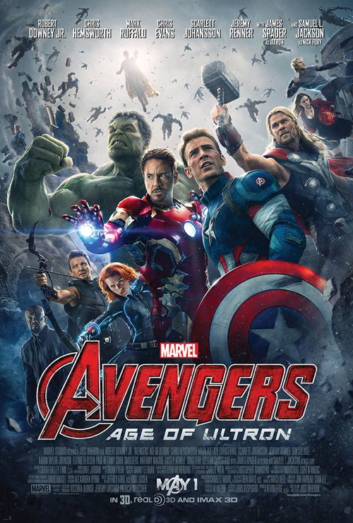 poster baru avengers age of ultron the vision