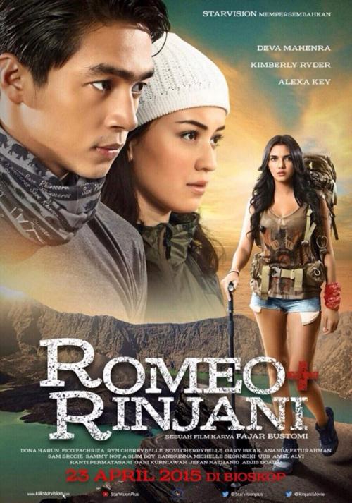 poster film romeo dan rinjani