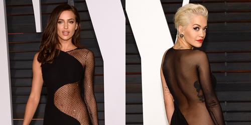 4 Artis Seksi Ini Tak Pakai Celana Dalam di Pesta Oscar 2015