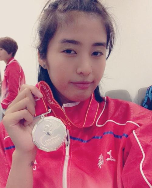 Zhao Lina kiper cantik di piala dunia wanita