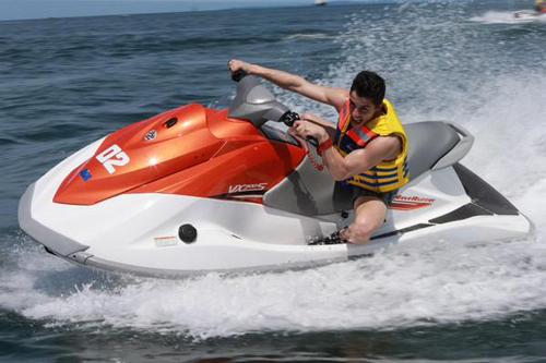 Marc Marquez di bali jetski keren