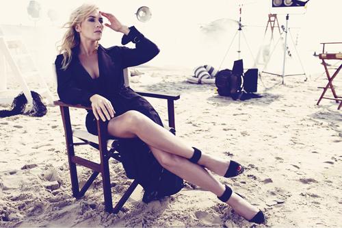 Kate Winslet seksi di majalah Harper Bazaar Inggris