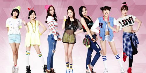 April, Girlband Baru DSP Media Siap Debut