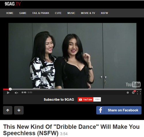 Duo Serigala dribble dance 9gag