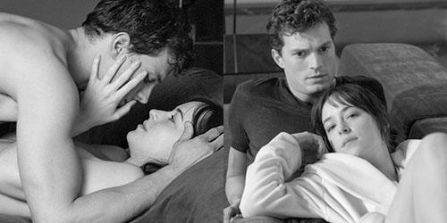 Behind The Scene Adegan Seks Fifty Shades of Grey
