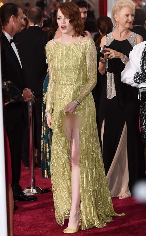 Emma Stone di Oscar 2015