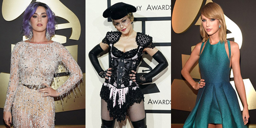 Fashion Unik Para Artis di Grammy Awards 2015