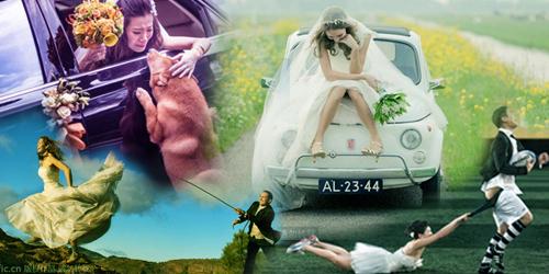 Foto Pre Wedding Paling Romantis dan Kocak 2014