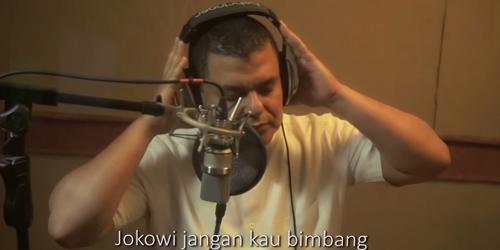 Haddad Alwi Rilis Lagu Jokowi Jangan Kau Ragu