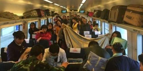 Ibu di Tiongkok Melahirkan Darurat Di Dalam Kereta Api
