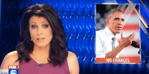 Kocak, Foto Obama Muncul Sebagai Pemerkosa di Televisi