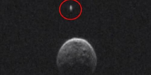 UFO Terlihat Mengelilingi Asteroid 2004 BL86