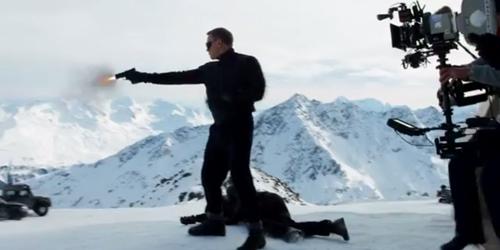 Video Behind The Scene James Bond Spectre di Austria, Spektakuler!