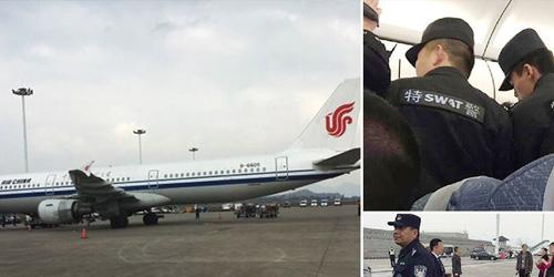 Wanita Patah Hati Ancam Bawa Bom di Pesawat Air China