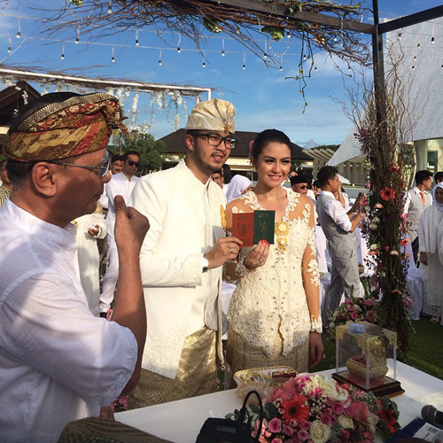 Pernikahan Revalina S Temat dan Rendy