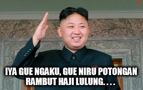 Gaya Rambut Haji Lulung vs Kim Jong Un