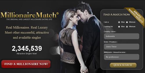 Situs Kencan Unik Berdasarkan Hobi: Millionare Match