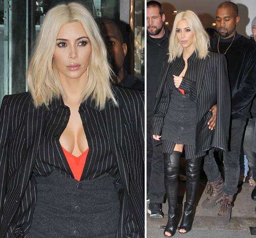 Kanye West pegang bokong hot Kim Kardashian