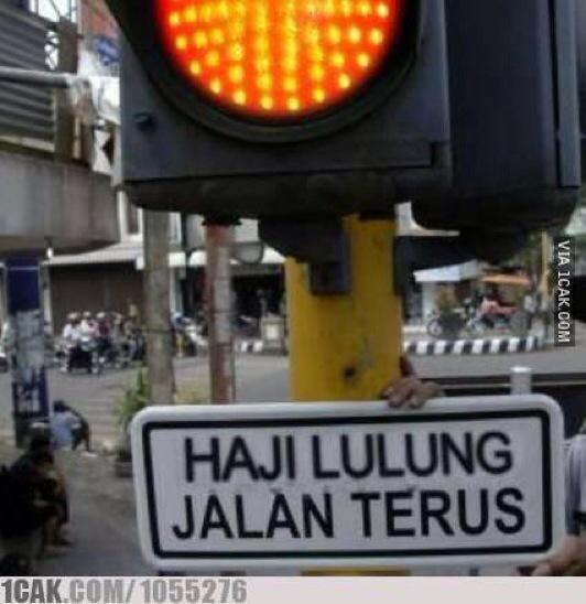 Haji Lulung Jalan Terus