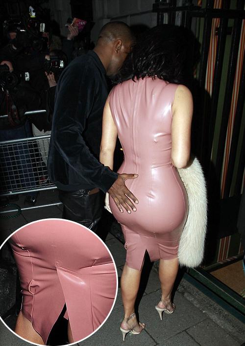 kim kardashian gaun ketat seksi hot