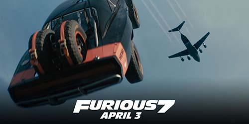 Aksi Mobil Terjun dari Pesawat di Trailer Baru Furious 7