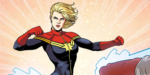 Captain Marvel Muncul di Avengers: Age of Ultron?