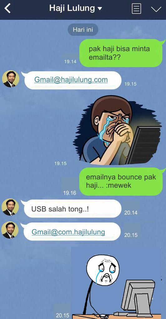 Email Haji Lulung