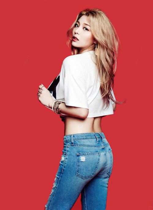 Ailee seksi di majalah GQ