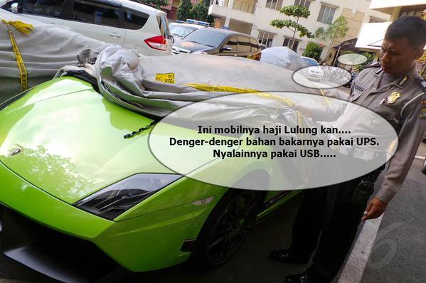 Lamborghini Haji Lulung