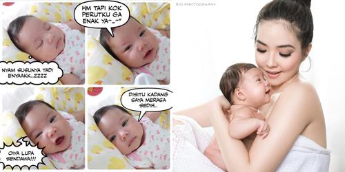 Gisel Giat Bikin Meme Lucu dari Foto Anaknya
