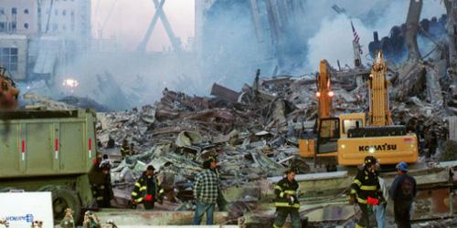 Hantu Wanita Muncul di Reruntuhan Gedung WTC