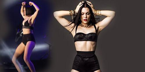 Jessie J Buka Baju di Java Jazz Festival 2015
