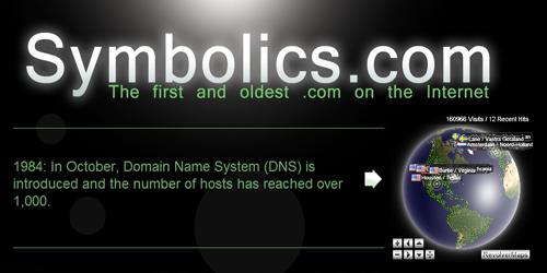 Symbolic.com, Domain 'Dot Com' Pertama Ulang Tahun ke-30