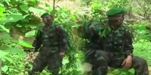 Video Anggota TNI Nyanyi Dangdut 'Serdadu' Hebohkan Youtube