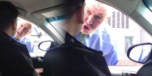 Polisi Galak Bentak Sopir Taksi Nyaris Dipecat
