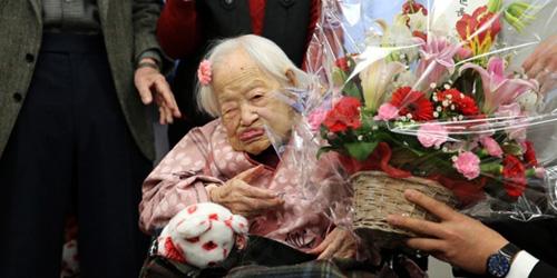 ... sedunia meninggal di usianya yang ke -117 tahun di Jepang, Rabu (1/4