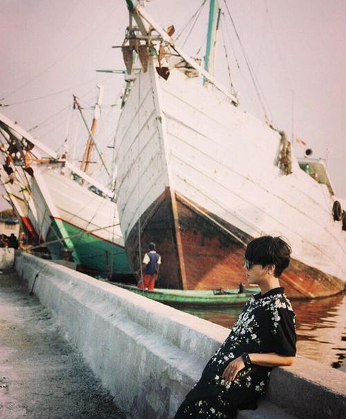 yesung super junior di muara angke indonesia