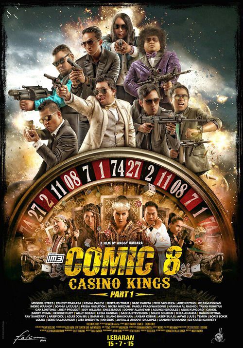 poster official resmi film comic 8: casino kings