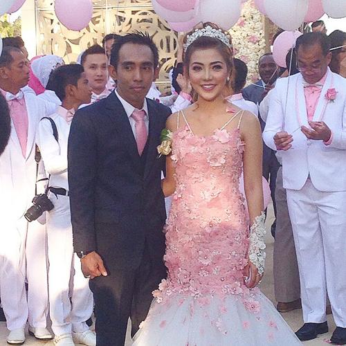 pernikahan bella shofie dan suryono