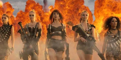#BadBloodMusicVideo, Emoji Twitter Video Klip Taylor Swift