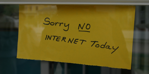 Dampak Tak Ada Internet Dalam Sehari