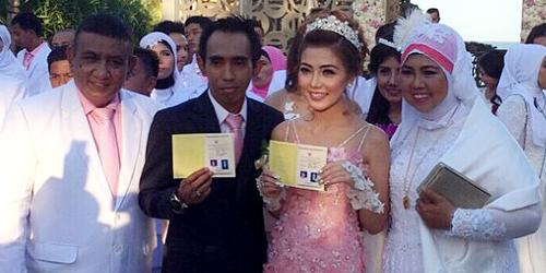 Heboh Foto Suryono Suami Bella Shofie Sudah Pernah Menikah