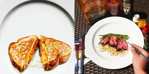 Jangan Dimakan! Makanan di Atas Piring Ini Lukisan 3D