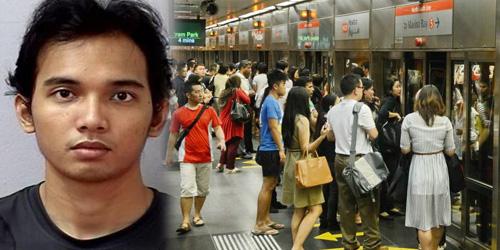 Mahasiswa Indonesia Lecehkan Cewek Singapura di MRT Dipenjara