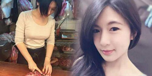 Mbak Caijie Tukang Daging Cantik Pic 1 of 35
